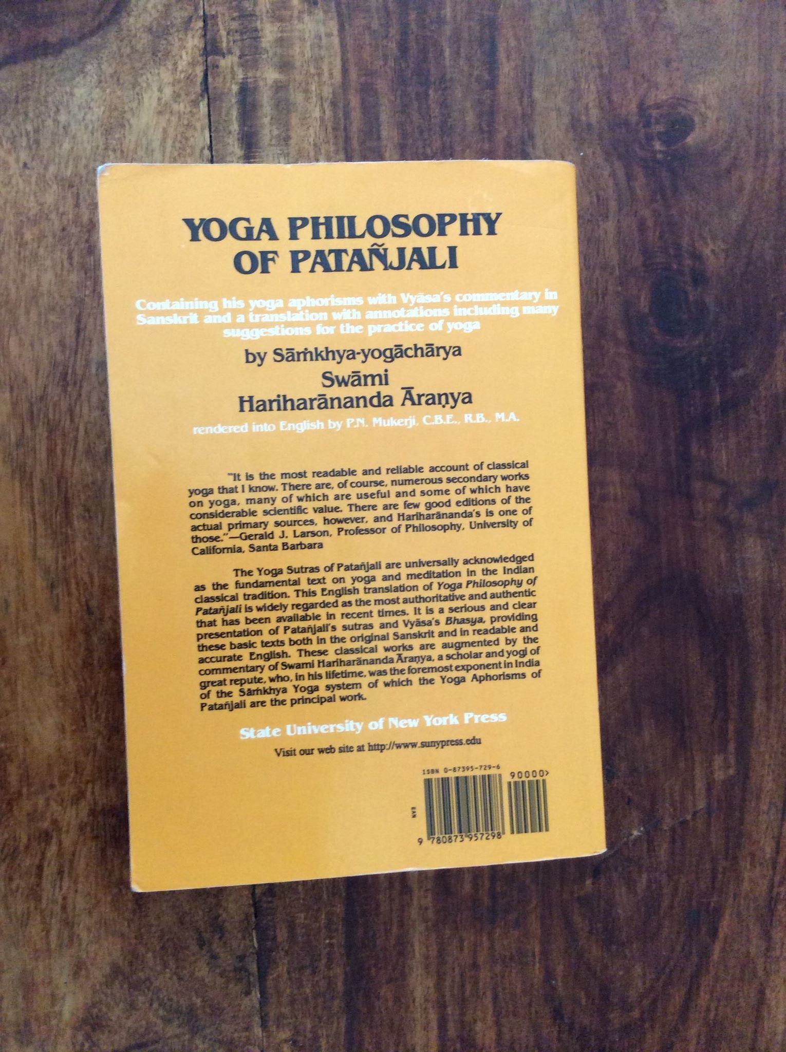 Yoga Philosophy Of Patanjali By Hariharananda Aranya Svastha Yoga Stockholm