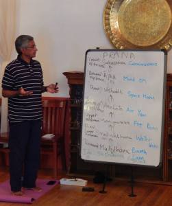 Ganesh Mohan lectures on Prana.